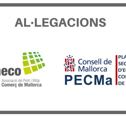 Alegaciones de Pimeco al Plan Director Sectorial Equipamientos Comerciales