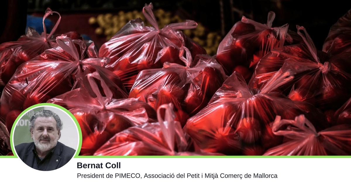 La prohibició de les bosses de plàstic