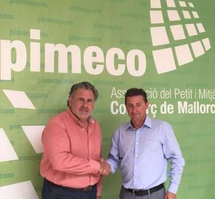 Pimeco y Naturelek firman un convenio de apoyo al pequeño comercio