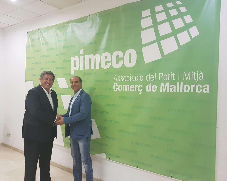 Acuerdo de colaboración entre PIMECO y RECIRCULA fomentando el modelo de economía circular