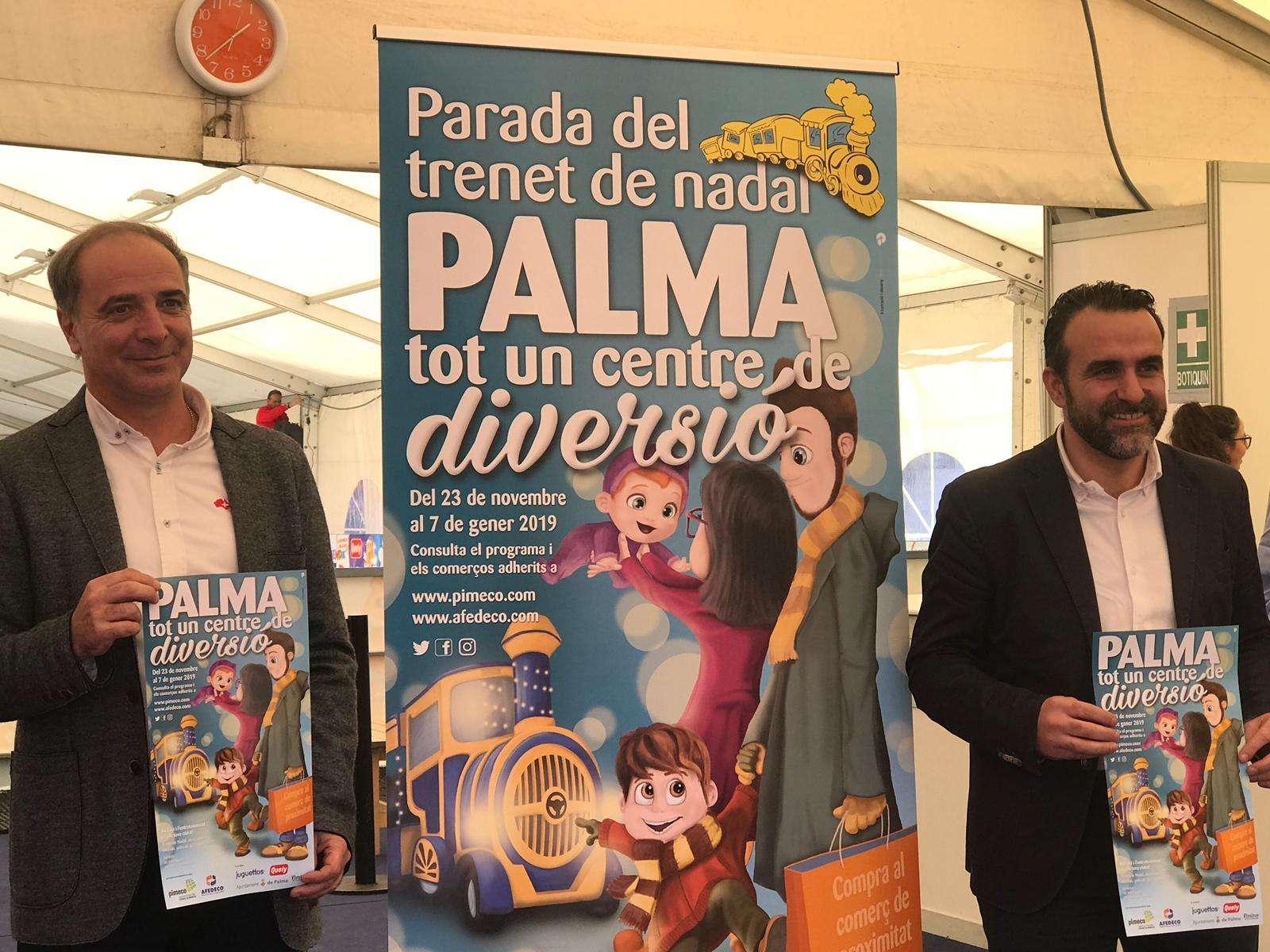 """""""Palma tot un centre de diversió"""": activitats lúdiques per a tota la família per dinamitzar la ciutat al Nadal"""