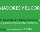 ELS TREBALLADORS I EL CORONAVIRUS