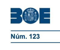 BOE 3 DE MAYO MINISTERIO DE SANIDAD