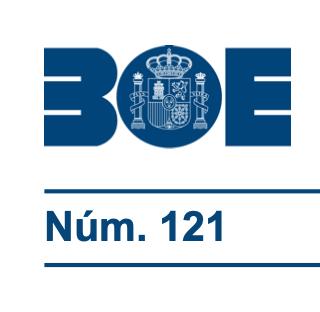 BOE 1 DE MAYO MINISTERIO DE SANIDAD