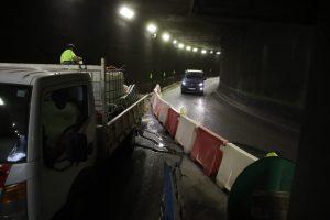 La ciudadanía se resigna y el cierre del túnel de Nuredduna pasa desapercibido para el tráfico